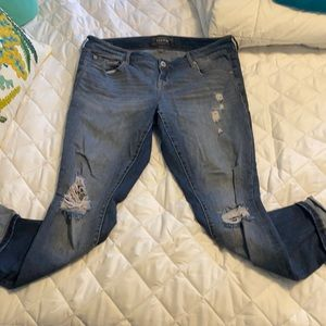 Torrid Ripped jeans size 12
